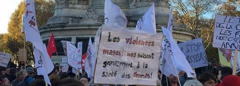 #WeToogether : à Paris, ils manifestent contre les violences faites aux femmes