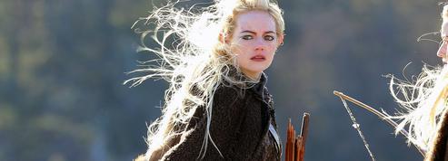 Emma Stone, un elfe blond dans les rues de New York