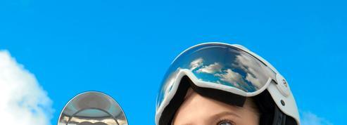 Hors piste : slalom en tenue graphique