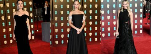 Angelina Jolie, Jennifer Lawrence, Margot Robbie... Toutes en noir aux Bafta 2018