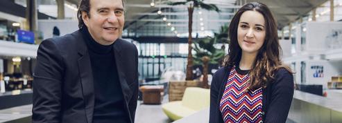Xavier Niel et Roxanne Varza :