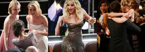 La joie de Frances McDormand, l'agitation de Jennifer Lawrence, le sit-down d'Andra Day : le meilleur des Oscars 2018 en coulisses