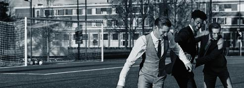 Mode homme : sur le terrain de foot, alliez survêt et élégance