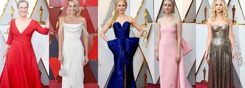 Margot Robbie, Nicole Kidman, Jennifer Lawrence... Les plus beaux looks du tapis rouge des Oscars 2018