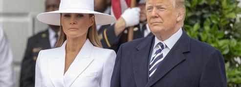 Melania Trump esquive de nouveau la main de son mari