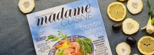 Madame Figaro Cuisine spécial été, à retrouver en kiosque et sur le Web