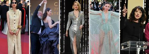 Les larmes du prix d'interprétation féminine et le cri du cœur d'Asia Argento, la clôture du Festival de Cannes en images