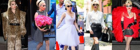 Mi-Lady, mi-Gaga... La chanteuse fait son marathon mode à New York