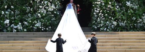 Une créatrice britannique pour une maison française, la robe de mariée de Meghan Markle