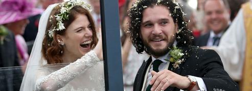 Les photos du mariage de Kit Harington et Rose Leslie, le couple star de