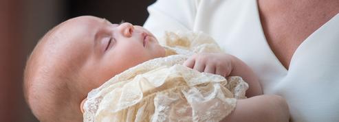 Les premières photos du baptême du prince Louis