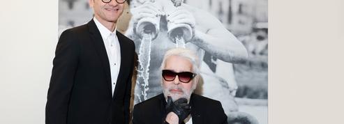 Karl Lagerfeld et Serge Brunschwig: