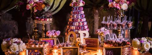 Orné de fleurs, de perles, effet cristal… Des gâteaux de mariage originaux et gourmands