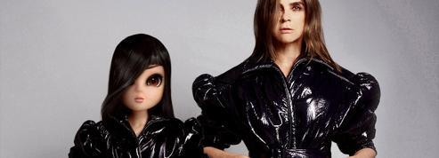 Carine Roitfeld et la star virtuelle Noonoouri prennent la pose