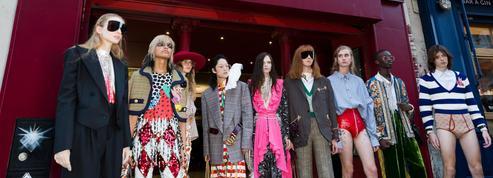 Jane Birkin, les années Palace et un film d'horreur en Super 8... Gucci fait son show à Paris