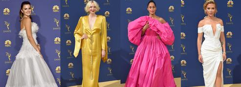 Scarlett Johansson, Penélope Cruz, Gwendoline Christie... Les robes et looks les plus mémorables des Emmy Awards 2018
