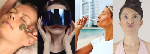Rouleau de jade, luminothérapie, yoga facial... Des alternatives anti-âge sans passer par la case chirurgie