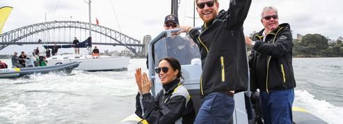 Les dernières photos de Meghan et Harry en Australie : Invictus Games, voile et didgeridoo