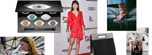Une palette Kenzo, des sacs Majestic Filatures, Dakota Johnson en Celine par Hedi Slimane ... L'Impératif Mode et Beauté