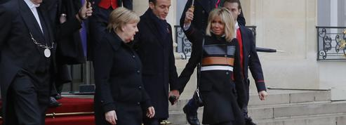 Le marathon mode tout en sobriété de Brigitte Macron pour les commémorations de l'armistice