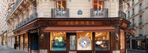 Hermès avenue George-V ou l'art d'être à rebours et dans son temps