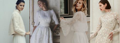 Mariage d'hiver : les plus belles robes pour dire oui par avis de grand froid