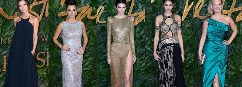 Kate Moss, Penélope Cruz, Victoria Beckham... Le tapis rouge couture des British Fashion Awards