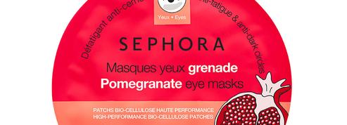 Beauté Stars 2019 : Masques-Patchs Tissu Yeux, Sephora Collection
