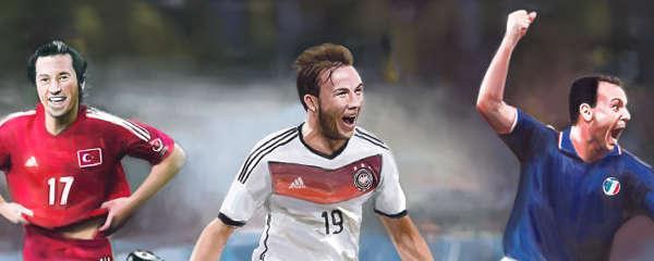 Schillaci et Cie, lumière et ombre des étoiles filantes de la Coupe du monde
