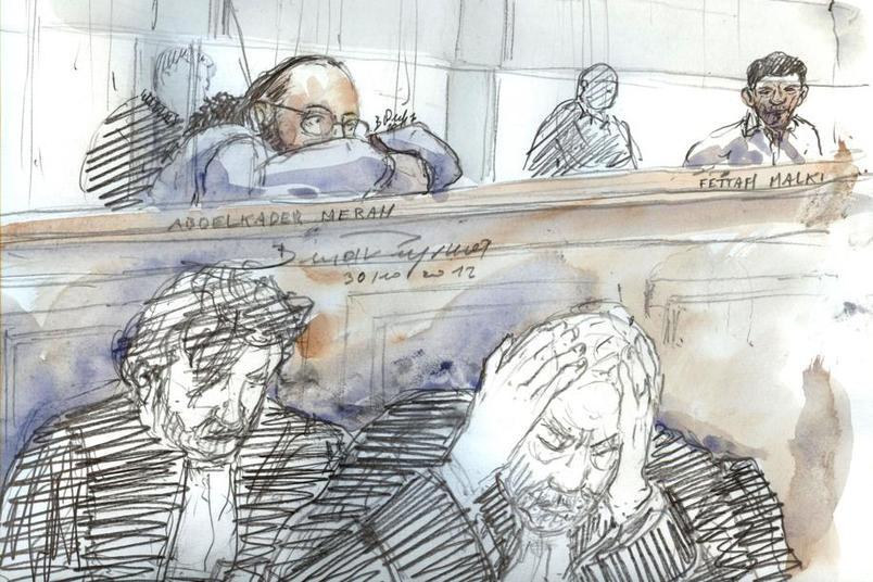 88406a18dbb16 Abdelkader Merah derrière ses avocats