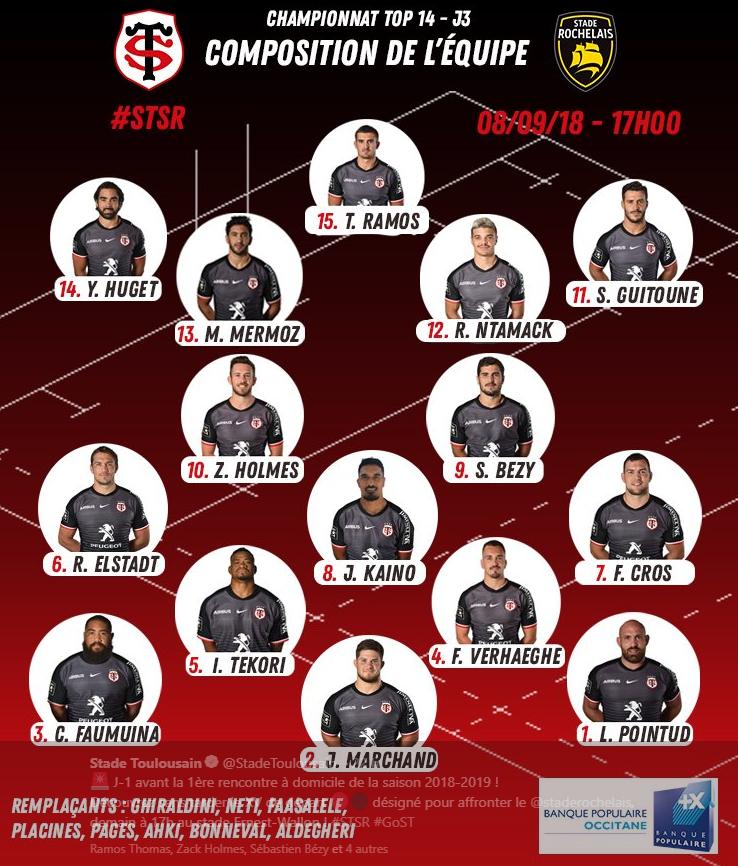 Calendrier Stade Toulousain 2019.Toulouse La Rochelle En Direct Saison 2018 2019 Top 14