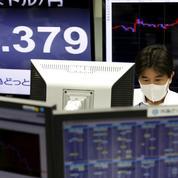 La déroute boursière contamine l'Asie