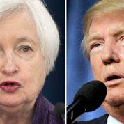 Bras de fer en vue entre Janet Yellen, la patronne de la Fed, et Donald Trump