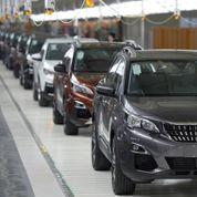 Peugeot s'envole après ses résultats semestriels