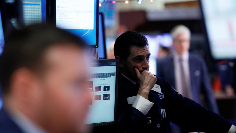 La Bourse de Paris finit dans le rouge après un rebond raté