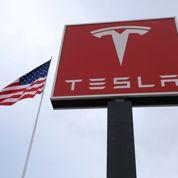 L'action Tesla rechute après l'annonce de lourdes pertes