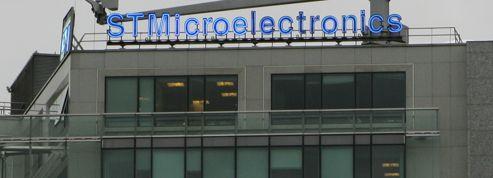 STMicroelectronics en forte hausse