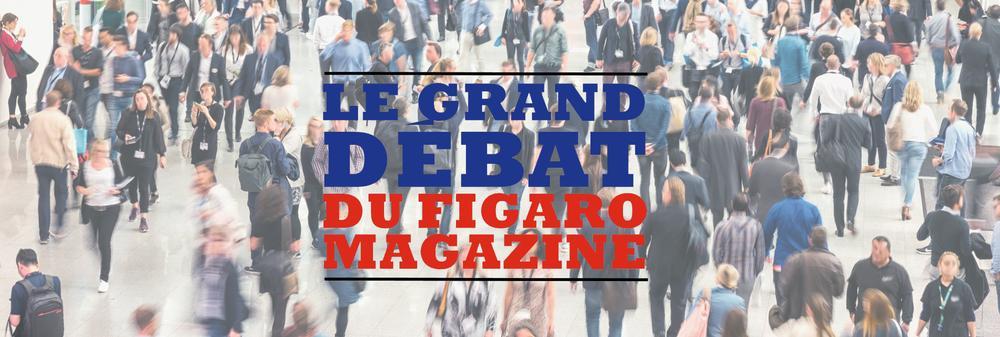 <p>Participez au grand débat du «Figaro Magazine».</p>