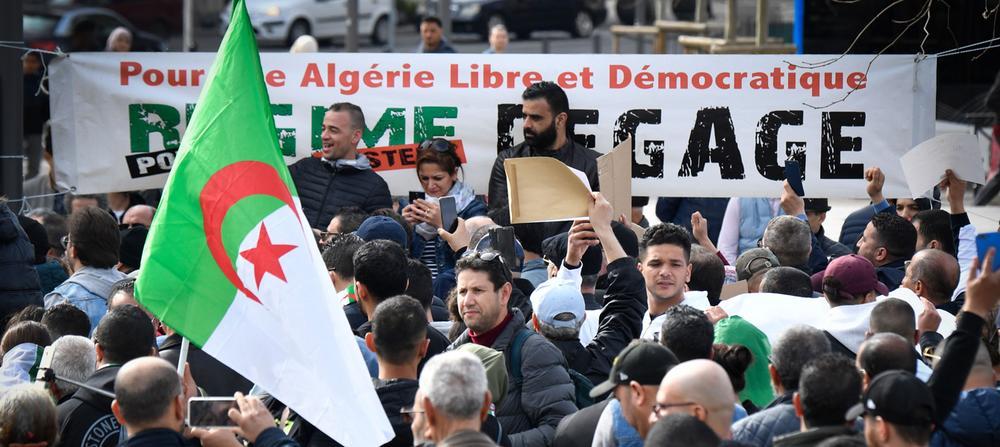 Présidentielle algérienne : manifestation contre Bouteflika