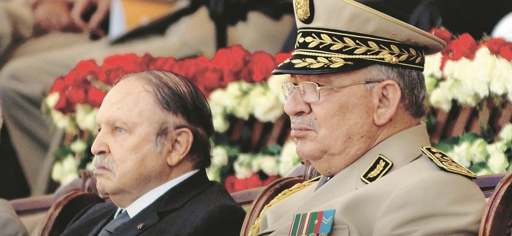Abdelaziz Bouteflika et Ahmed Gaïd Salah