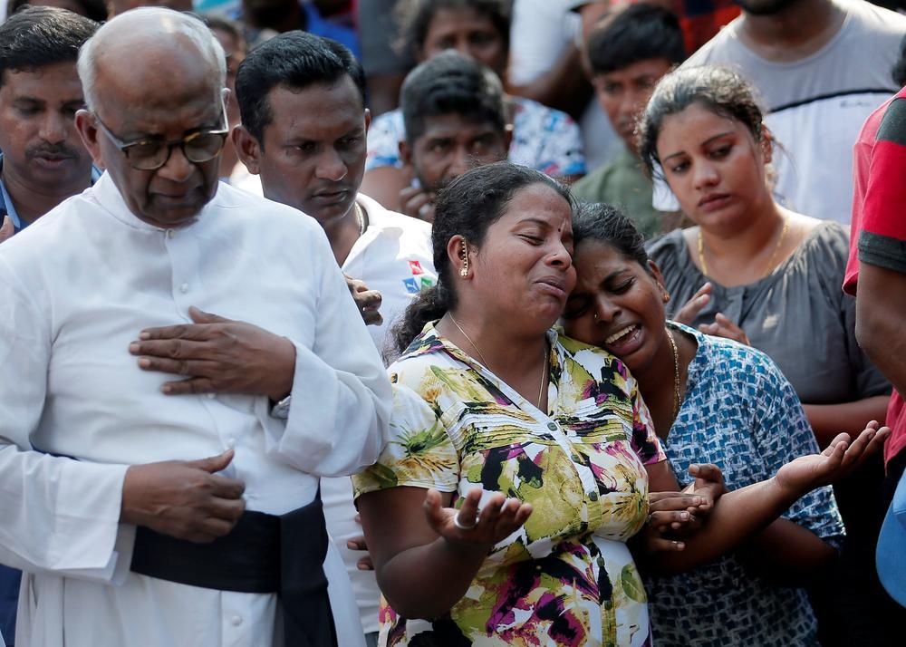 Recueillement à Colombo après les attentats de Pâques