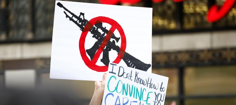 Manifestation pour le contrôle des armes à feu