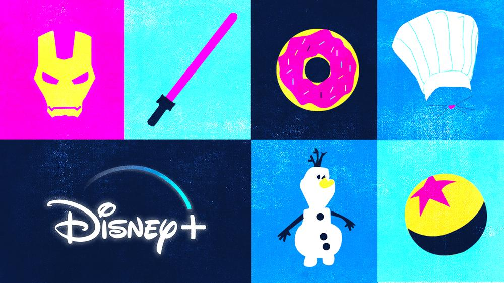 Les séries Disney+