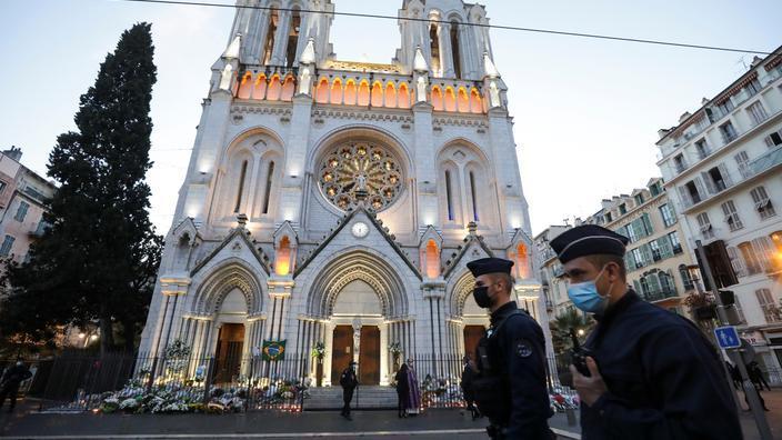 Attentat de la basilique de Nice : presque un an après le drame, un homme arrêté pour des menaces contre le sacristain 696fcf9f64764a4bfd59ea0ffdcb888967d7d3393466546ca3b383596b14c812