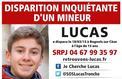 Disparition de Lucas Tronche: des «vérifications» en cours à son domicile
