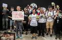 Hongkong: les manifestants remettent des pétitions aux pays du G20