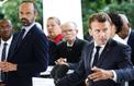 La popularité de Macron et Philippe en légère progression à 32%