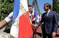 Macron à la commémoration de la Libération de Bormes-les-Mimosas