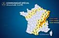 Orages : plusieurs départements en alerte orange dans l'est de la France