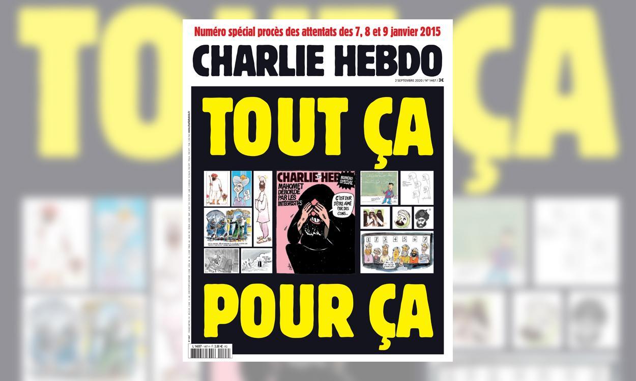 Charlie Hebdo Republie Les Caricatures De Mahomet Qui En Avaient Fait La Cible Des Djihadistes